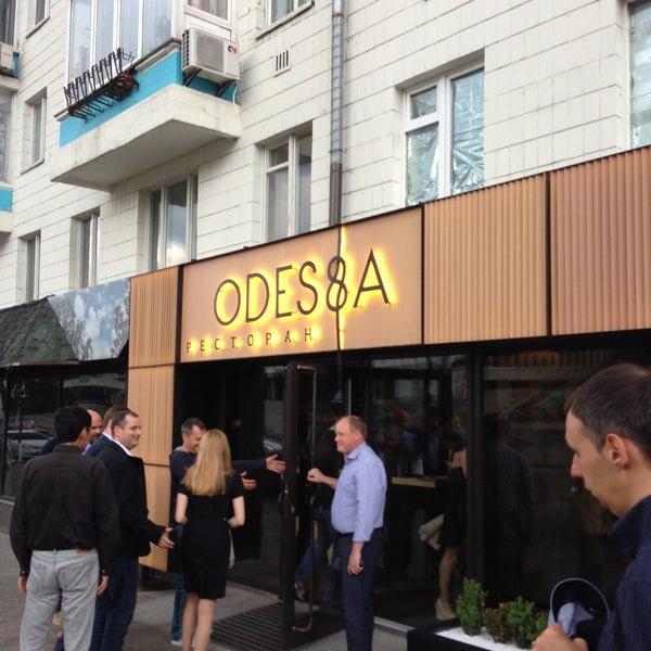 Снимок сделан в Ресторан ODESSA пользователем Norihisa N. 5/29/2013