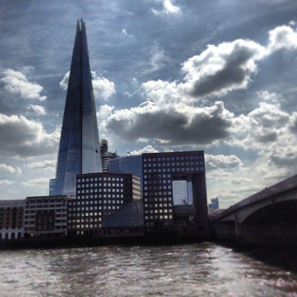 Photo taken at London Bridge by Paulo B. on 4/21/2013