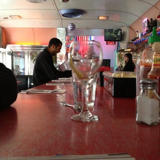 Photo taken at Silk City Diner Bar & Lounge by Chris H. on 12/1/2012