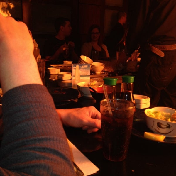 Photo taken at Samurai Japanese Steakhouse by Jeanmarie A. on 1/12/2014