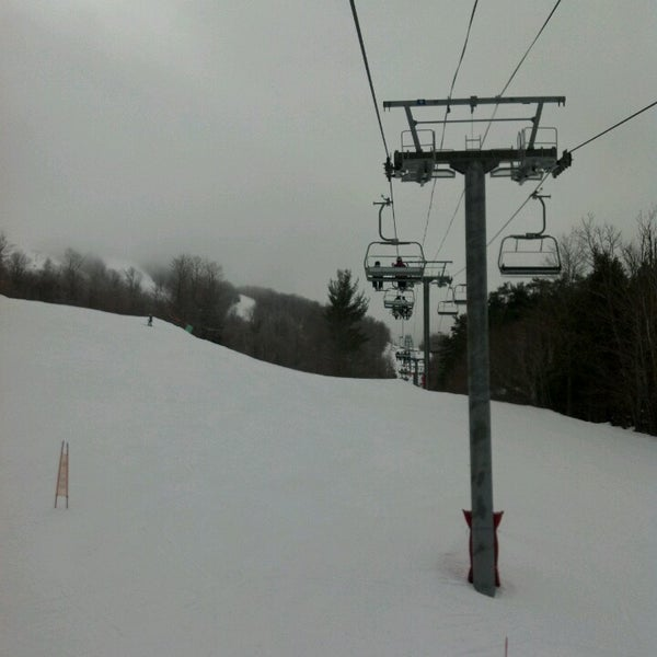 Photo taken at Whiteface Mountain by Shane S. on 3/6/2013