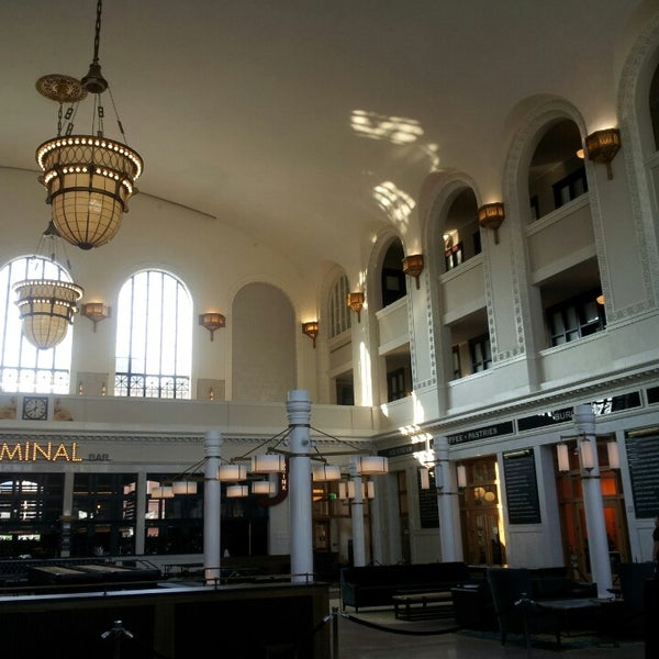Photo taken at Denver Amtrak (DEN) by Jennifer P. on 7/19/2014