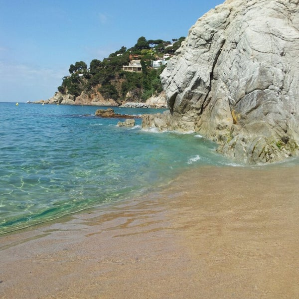 Photo taken at Canyelles Beach by Juanma on 6/24/2013