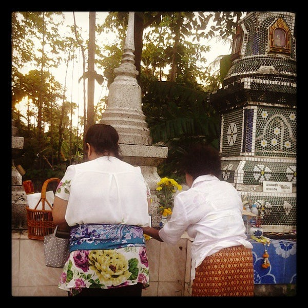 Photo taken at วัดสว่างอารมณ์ by Saowaluk R. on 10/1/2013