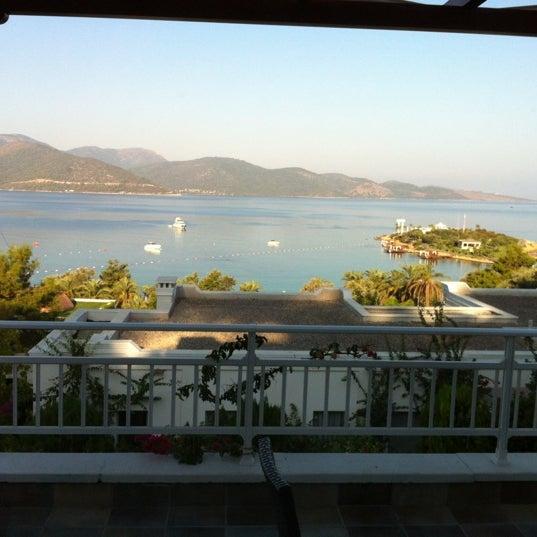 9/18/2012 tarihinde Ülkü Feyyaz T.ziyaretçi tarafından Rixos Premium Bodrum'de çekilen fotoğraf