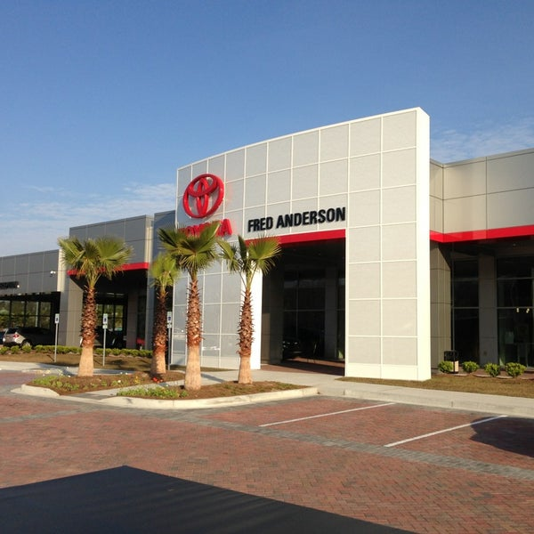 fred anderson toyota of charleston auto dealership in charleston. Black Bedroom Furniture Sets. Home Design Ideas