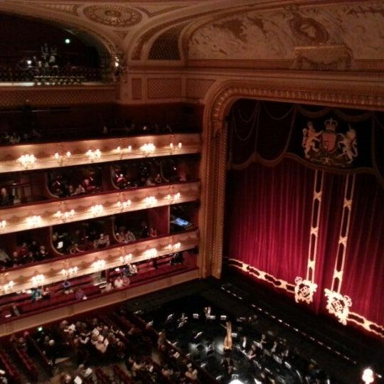 Photo taken at Royal Opera House by Amena S. on 11/24/2012