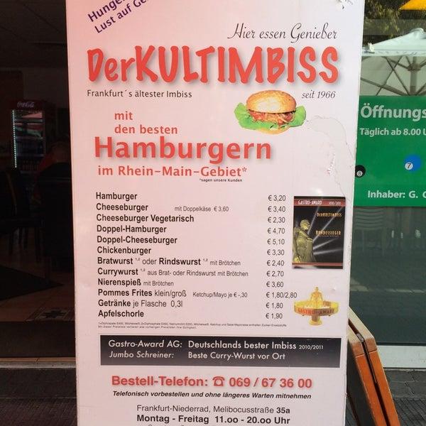 DerKULTIMBISS - Niederrad - 8 tips from 66 visitors