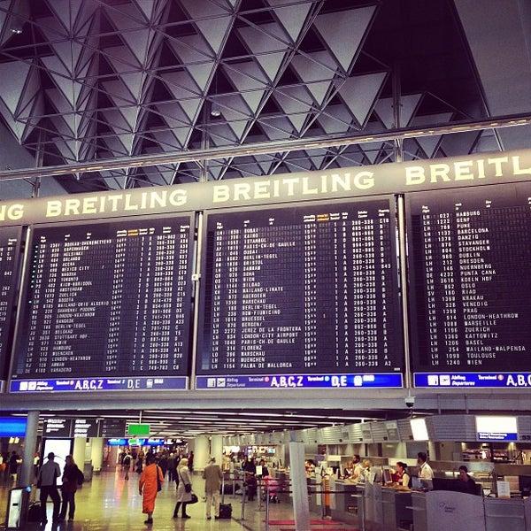 Das Foto wurde bei Frankfurt Airport (FRA) von walterox am 4/18/2013 aufgenommen