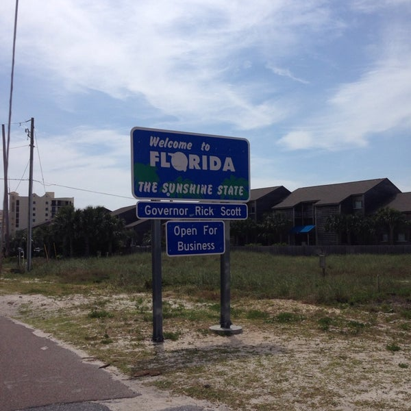 Perdido Key Alabama: Alabama / Florida State Line