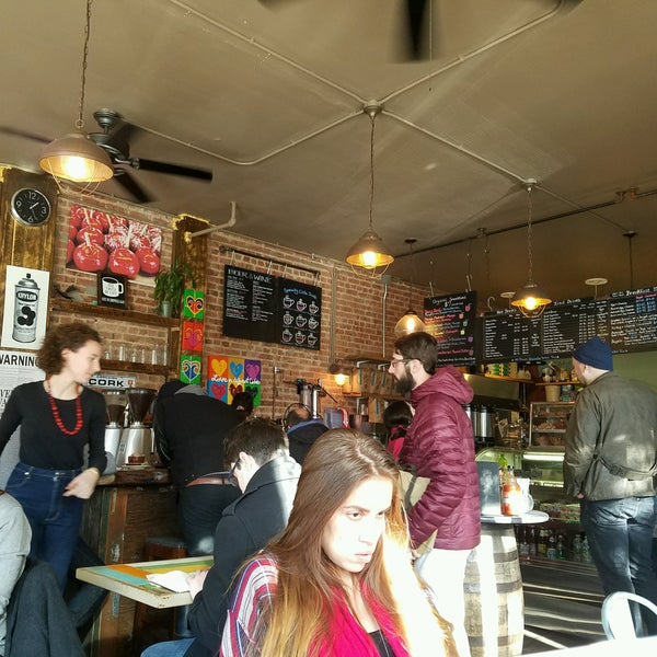 Photo taken at PLG Coffee House and Tavern by Audrey on 1/15/2017