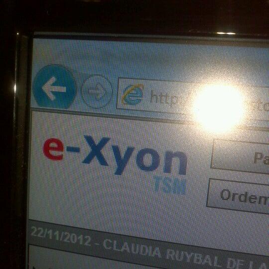 Das Foto wurde bei E-xyon von Claudia L. am 11/22/2012 aufgenommen