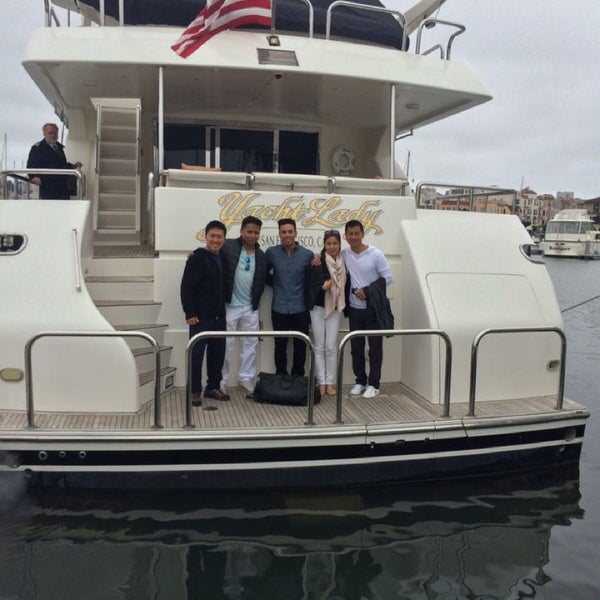Photo taken at San Francisco Yacht Club by Winston W. on 8/11/2014