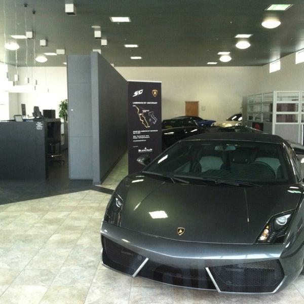 Photo Taken At Lamborghini Of Sarasota By Ryan T. On 1/13/2013