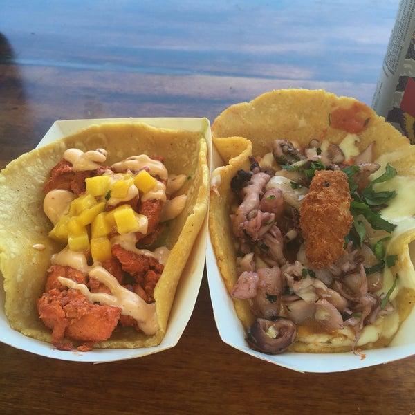Photo taken at City Tacos by arlene e. on 4/2/2016