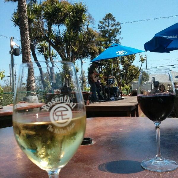 Rosenthal Wine Bar Patio 18741 Pacific Coast Hwy
