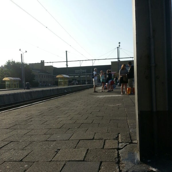 Photo taken at Station Blankenberge by Charlotte D. on 7/18/2013