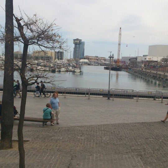 Photo taken at OneOcean Port Vell Barcelona by Ekaterina M. on 4/15/2013