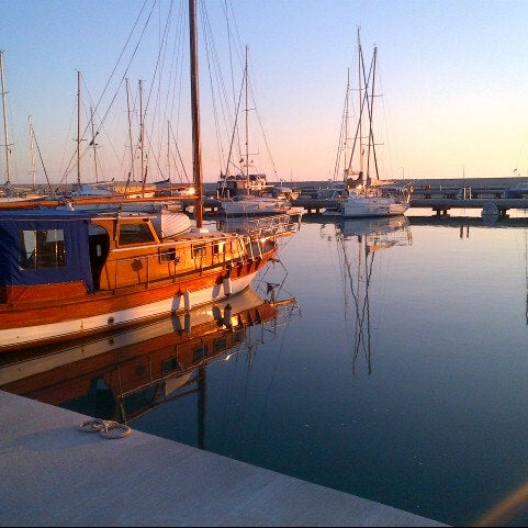 Photo taken at Mersin Marina by Caner E. on 1/15/2013