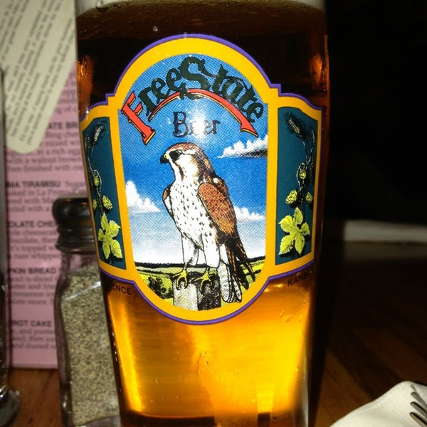 Photo taken at Free State Brewing Company by Maully M. on 2/24/2013