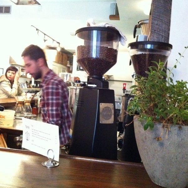 Photo taken at Bodhi Coffee by Sebastian S. on 3/1/2014