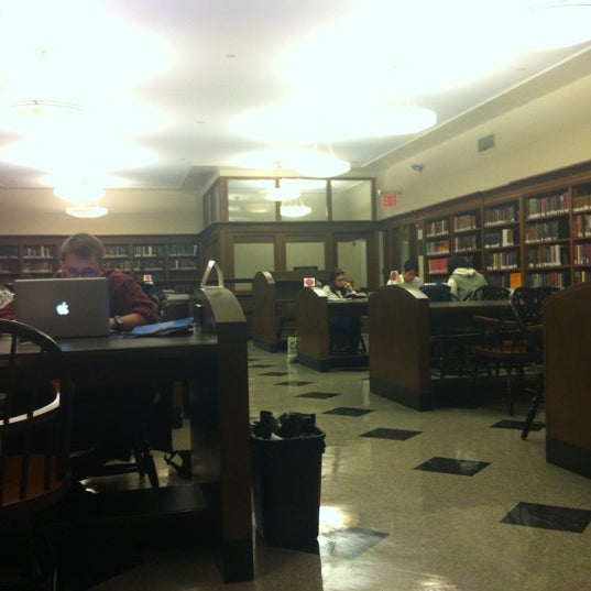 Photo taken at Butler Library by Alicia W. on 11/29/2012
