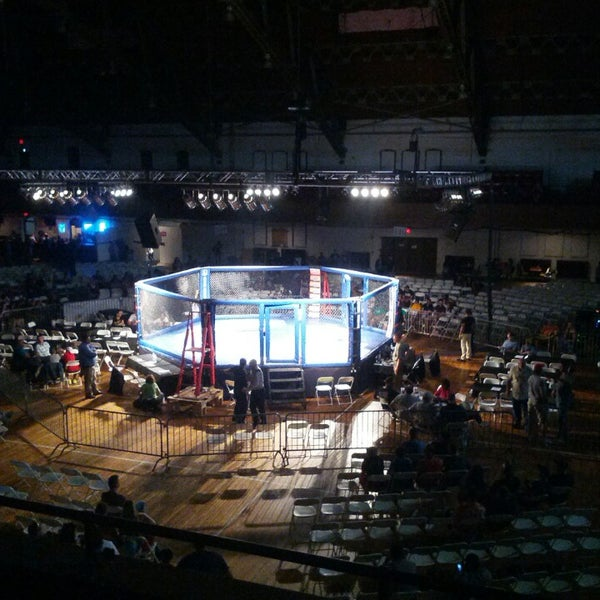 Photo taken at Main Street Armory by Jim T. on 6/29/2013