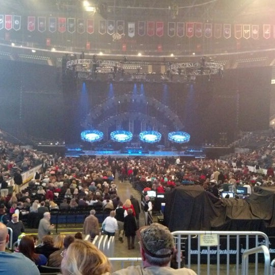 Photo taken at Nationwide Arena by Big D. on 12/31/2012
