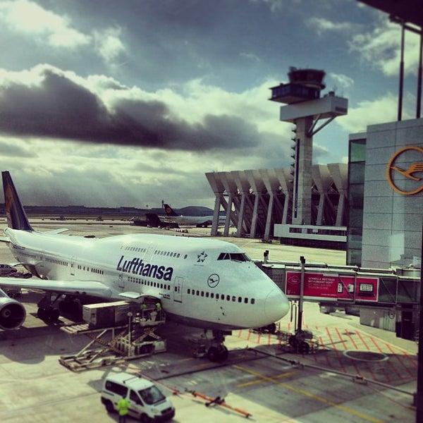 Das Foto wurde bei Frankfurt Airport (FRA) von Pamela C. am 10/30/2013 aufgenommen
