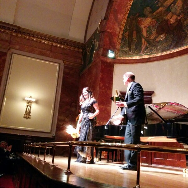 Photo taken at Wigmore Hall by Opera C. on 9/24/2014