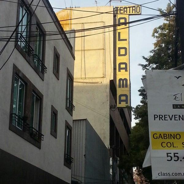 Foto tirada no(a) Teatro Aldama por Javier L. em 2/25/2013