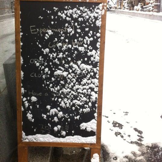 12/5/2012에 Heayeon J.님이 Experimental Coffee Bar by SAANG에서 찍은 사진
