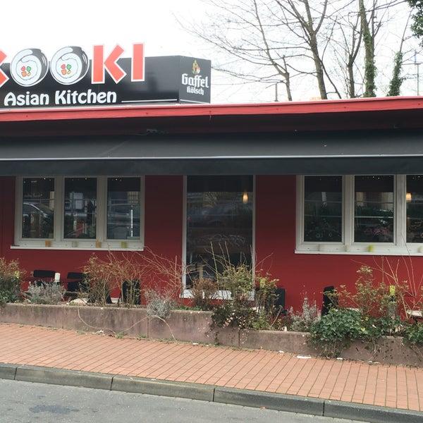 Das Foto wurde bei Kooki Asian Kitchen von Sascha F. am 3/24/2016 aufgenommen