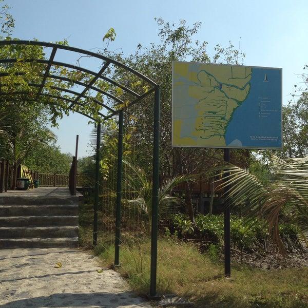 Photo taken at Ekowisata Mangrove by Na N. on 8/26/2015
