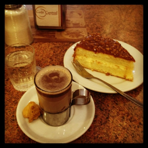 Photo taken at Café Central by Pame K. on 3/13/2013