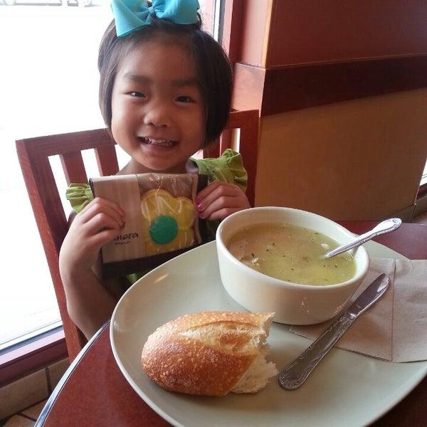 Photo taken at Panera Bread by Julie C. on 9/6/2013