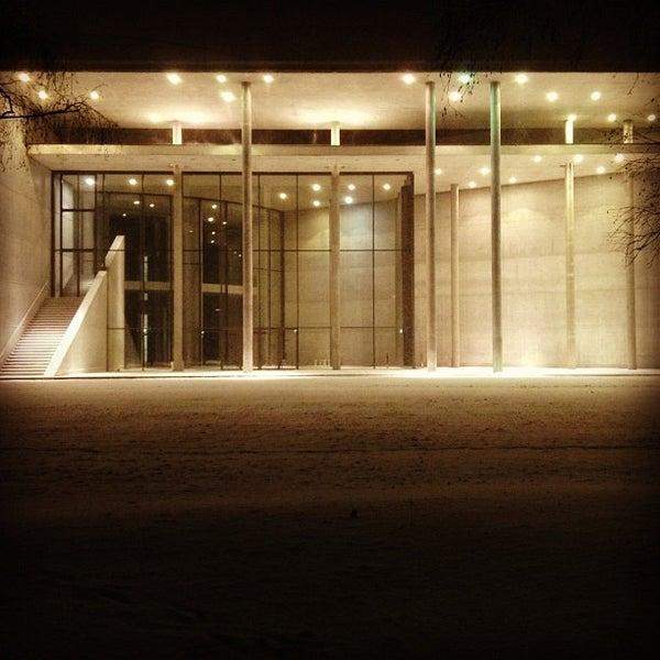 Photo taken at Pinakothek der Moderne by Niels F. on 12/9/2012