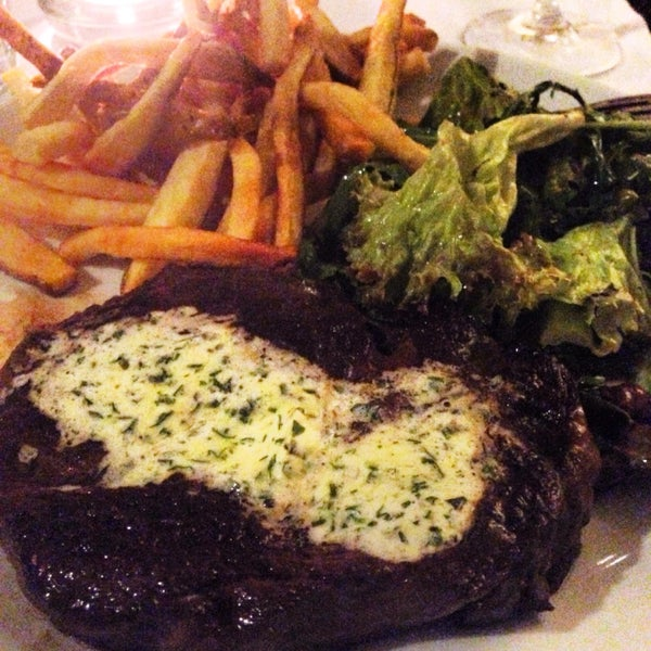 Great entrecôte, great salad, great fries