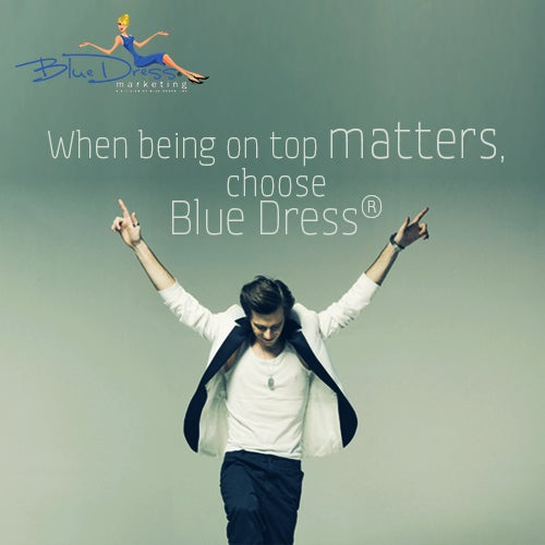 Participate in the online marketing race....and let us help you win it! www.bluedressinc.com #bluedressmarketing