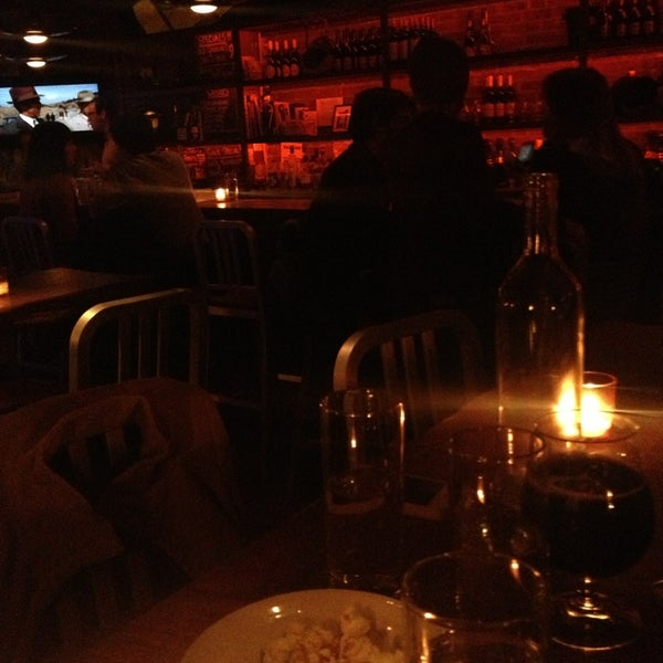 Photo taken at Custom Wine Bar by Kimberly T. on 3/9/2013