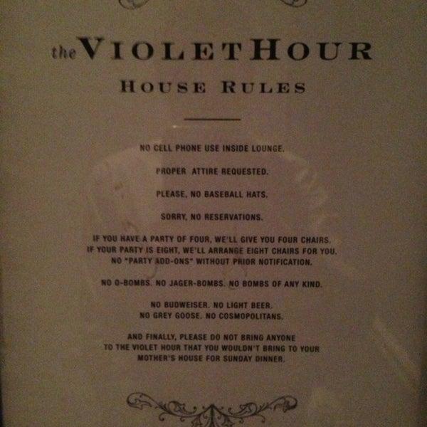 Foto scattata a The Violet Hour da Ryan C. il 4/25/2013