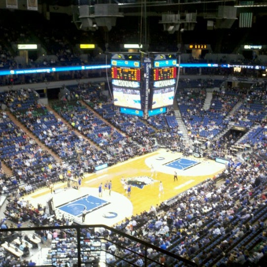 Photo taken at Target Center by Katie N. on 11/17/2012