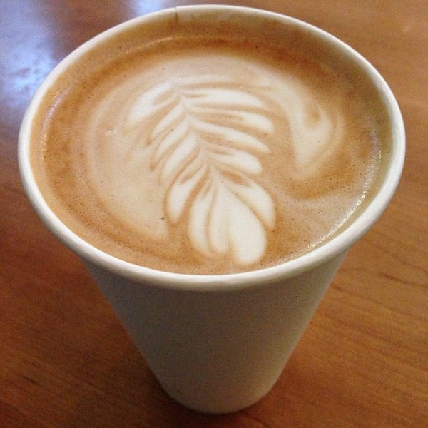 Photo taken at Victrola Cafe and Roastery by Anna T. on 3/13/2013