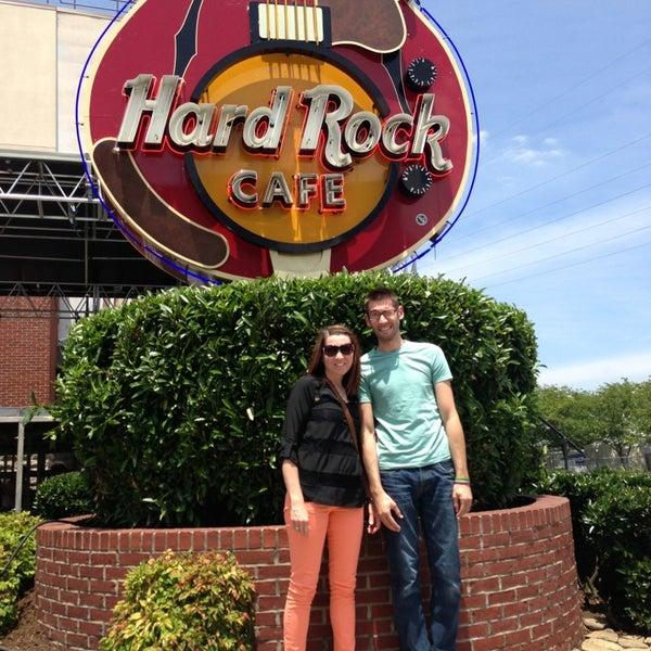 Photo taken at Hard Rock Cafe Nashville by Janelle S. on 6/4/2013