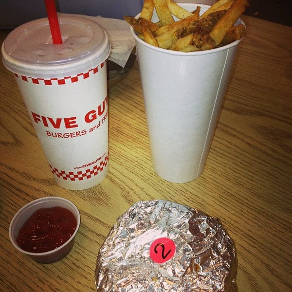 Photo taken at Five Guys by Abdulla A. on 12/30/2012