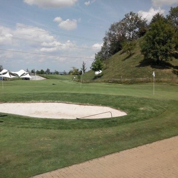 Photo taken at Golf Hostivař by Petr A. on 7/20/2017