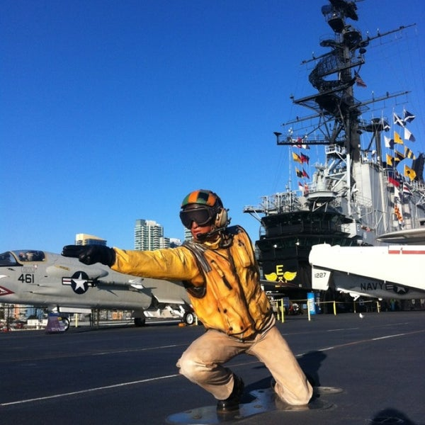 Photo taken at USS Midway Museum by Aldrich on 2/24/2013