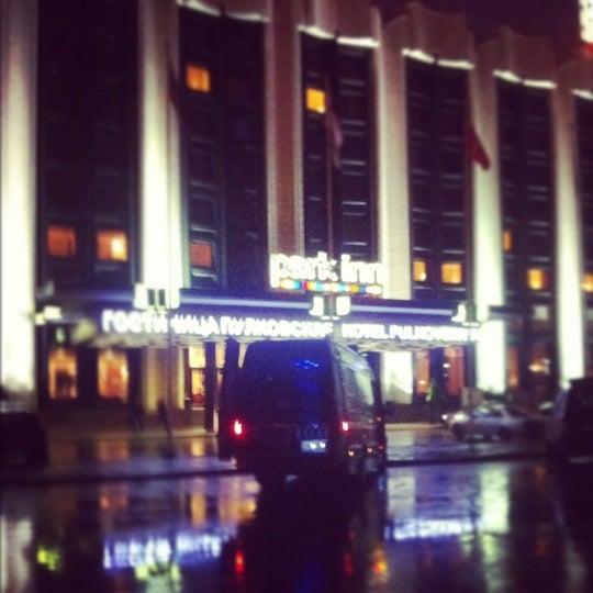 Снимок сделан в Park Inn by Radisson Pulkovskaya пользователем Dasha L. 11/3/2012