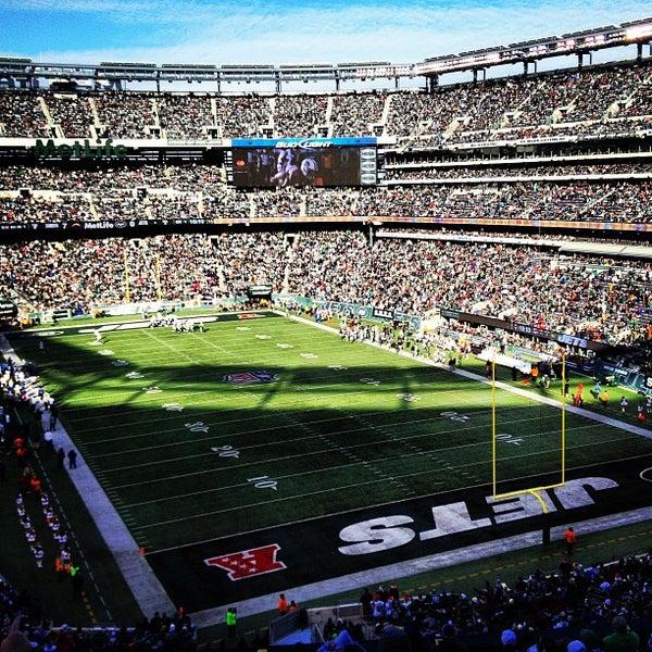 Photo taken at MetLife Stadium by Ryan K. on 12/23/2012