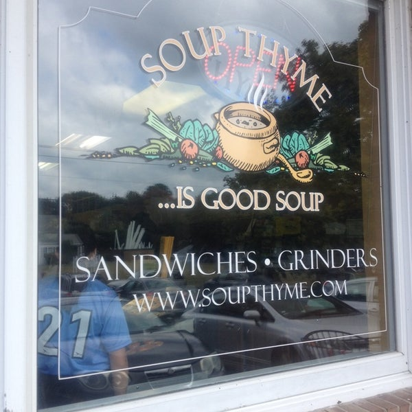 Photo taken at Soup Thyme by RetailGoddesses on 9/20/2014